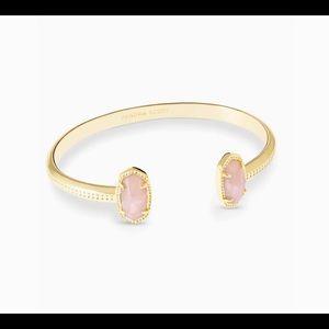 Kendra Scott Rose Quartz Bracelet